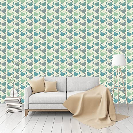 Puggy Pop Pastel Patterned Commercial Textured Wallpaper By CustomWallpaper