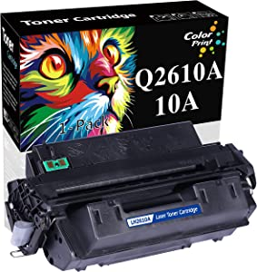 1-Pack ColorPrint Compatible HP 10A 2610A Q2610A Toner Catridge Used for HP Laserjet 2300L 2300N 2300D 2300DN 2300DTN 2300 Printers (Black)