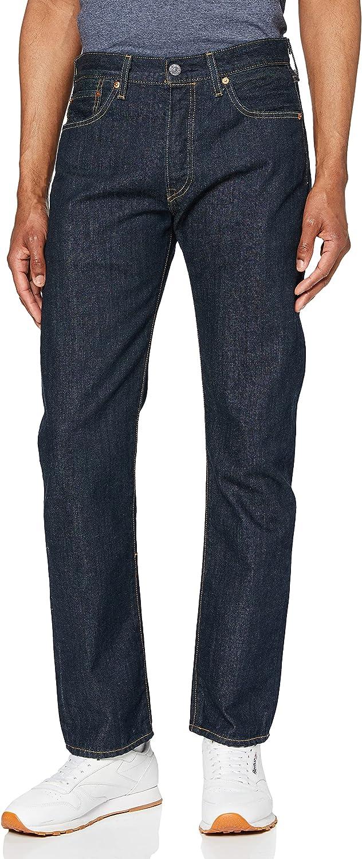 Levi's Mens 501 El Paso Mall Save money Regular Straight-Leg Denim Le Jeans 36 Size Blue