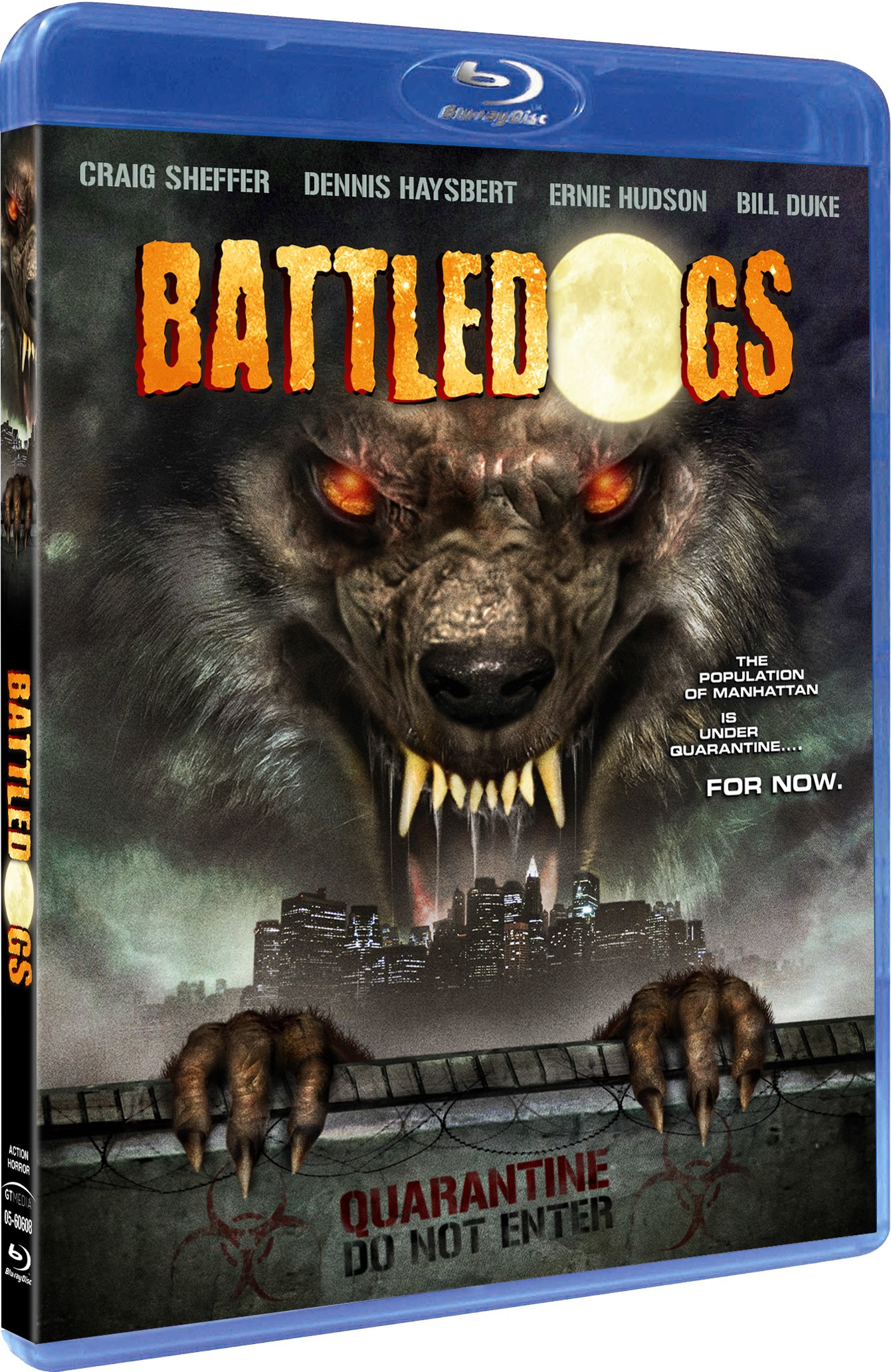 Blu-ray : Battledogs (Blu-ray)