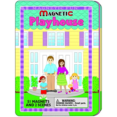 Magnetic Fun - House: Toys & Games