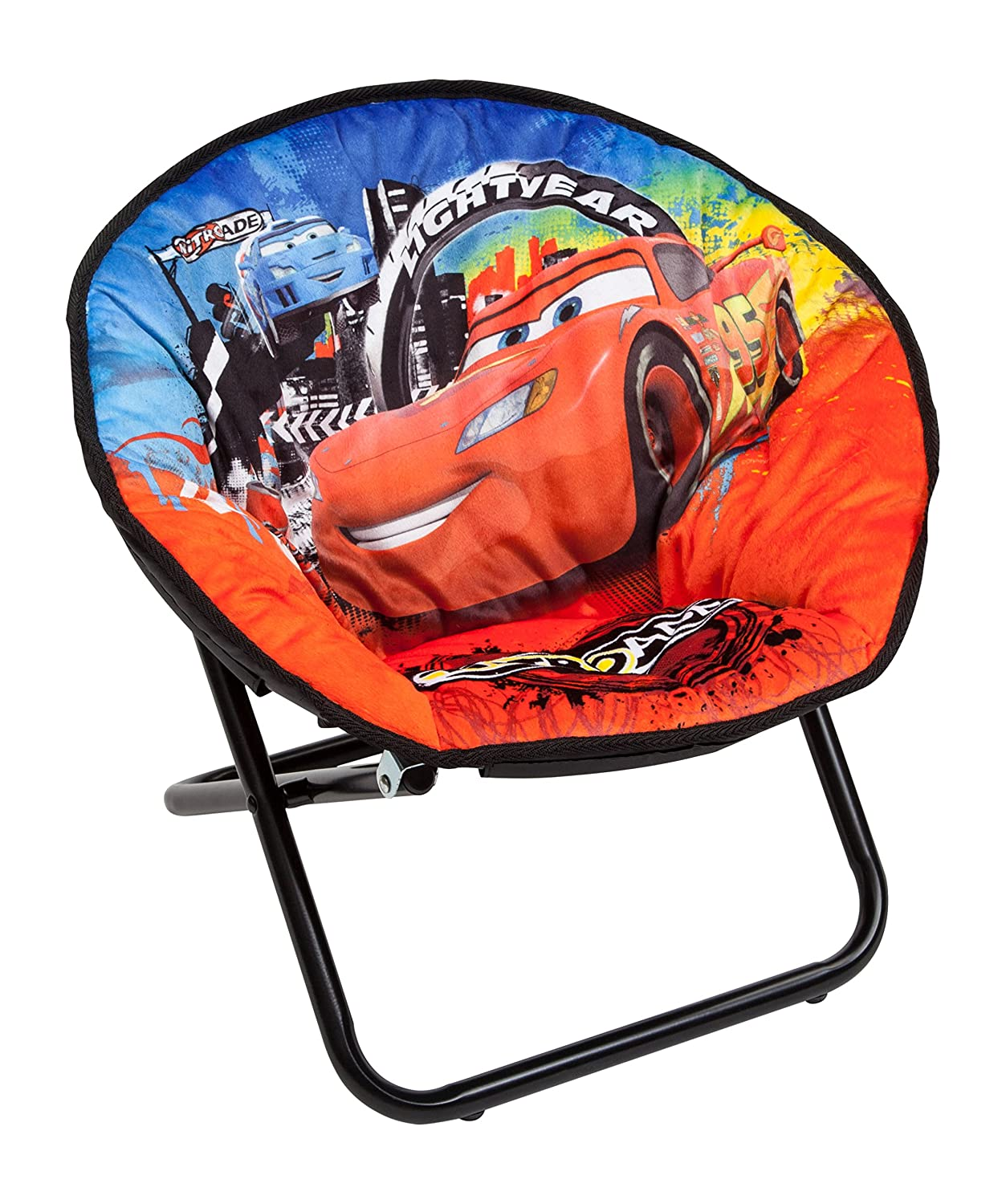 Disney Cars Children's Saucer Chair Delta Children TC85835CR