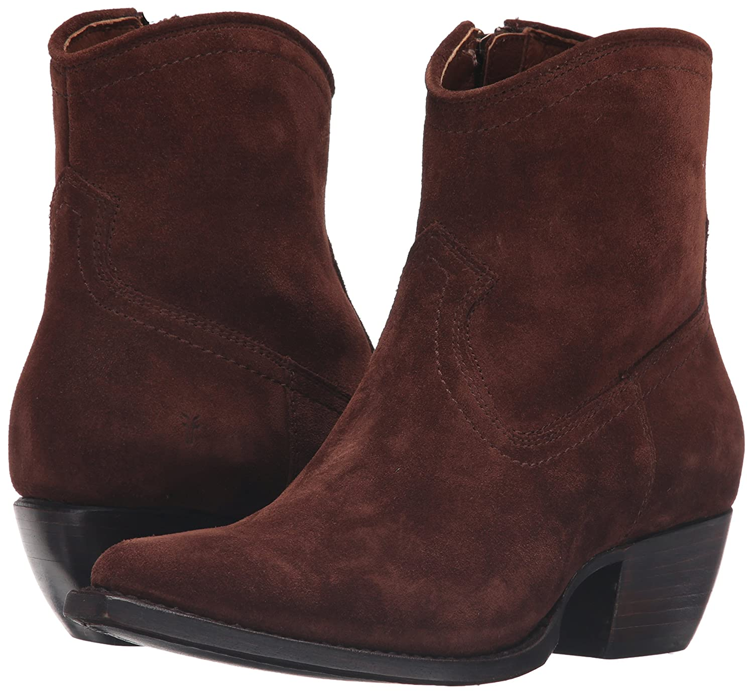 FRYE Women's Sacha Short B(M) Suede Boot B01944DJV4 6 B(M) Short US|Brown 182ab4
