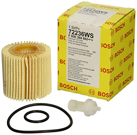 Amazon.com: Bosch Workshop Filtro de aceite para motor ...