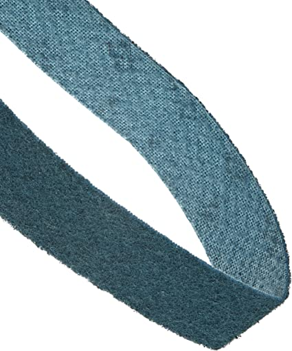 18 Length x 1//2 Width Pack of 1 Blue Very Fine Scotch-Brite Surface Conditioning Belt