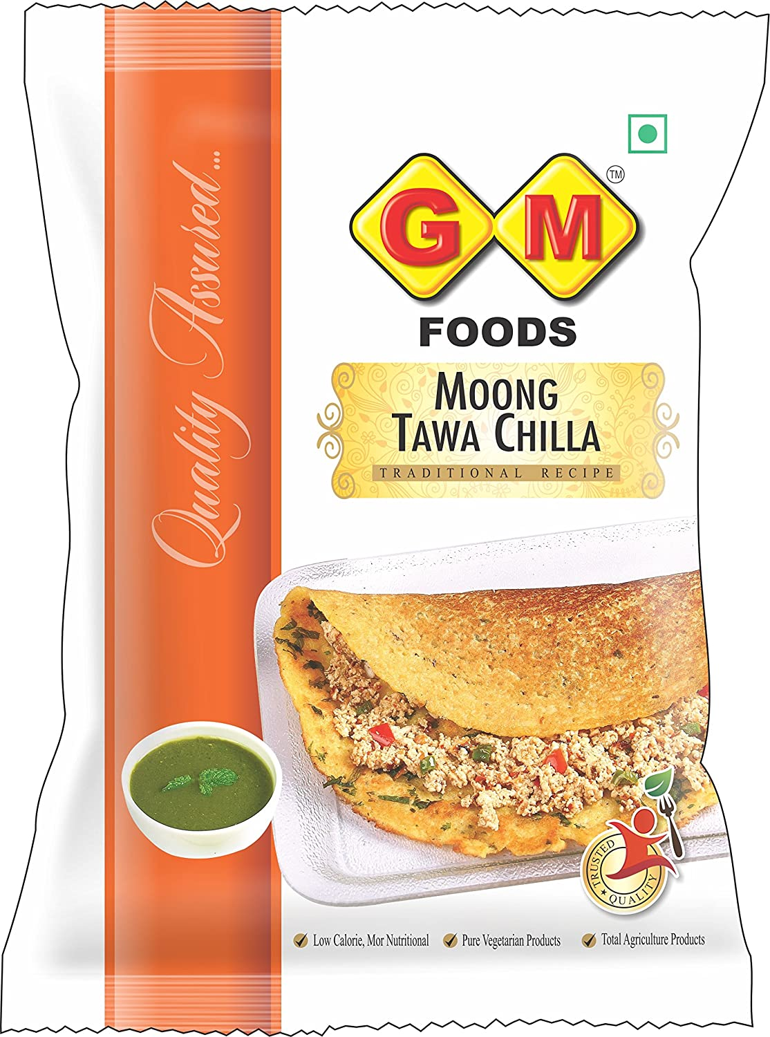 G M Foods Moong Tawa Chilla 400g Amazon In Grocery Gourmet Foods