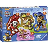 Ravensburger 7032 Paw Patrol 4 Shaped Jigsaw Puzzles - 10, 12, 14 and 16 Pieces