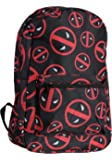 bioWorld Marvel Deadpool Symbol Logo All Over Print Backpack