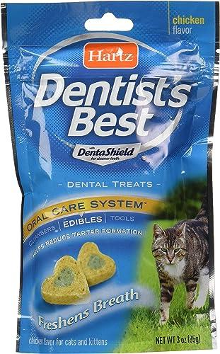 Hartz Dentist S Best Chicken Flavored Dental Cat Treats