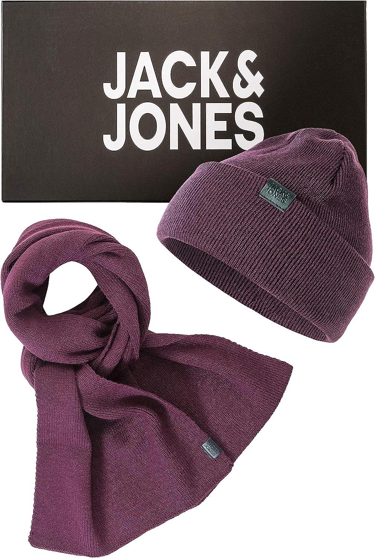 Gorro y bufanda para hombre Jack /& Jones