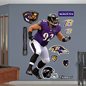 NFL Baltimore Ravens Haloti Ngata Wall Graphics : baltimore ravens wall decals - www.pureclipart.com