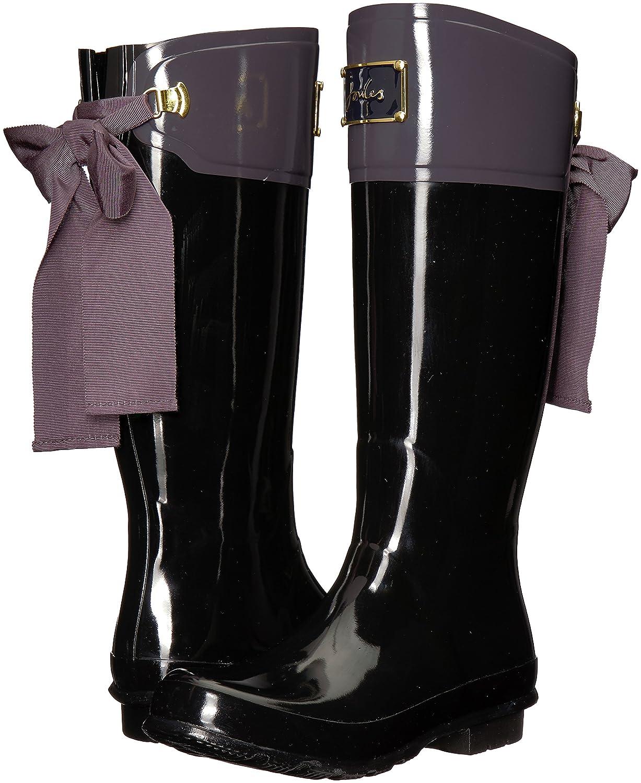 Joules Womens Evedon Rain Boot B01LWIUWHT 9 B(M) US|Slate Grey