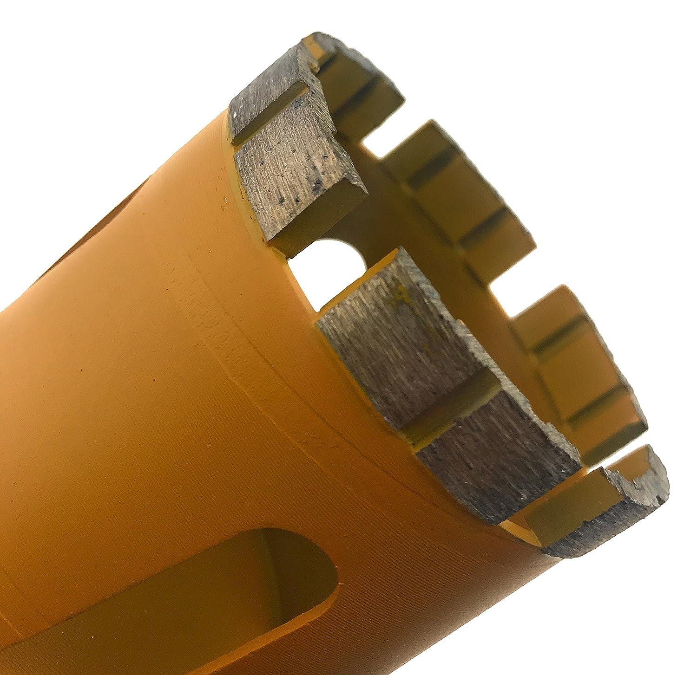 M16-6 Segments Diamant Foret cylindrique PDX957.638 68mm PRODIAMANT Qualit/é Premi/ère couronne diamant Ma/çonnerie 68 mm