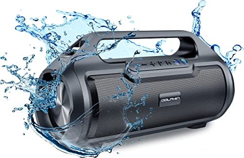 Dolphin LX-20 Dual Portable Bluetooth Waterproof Tube Speaker