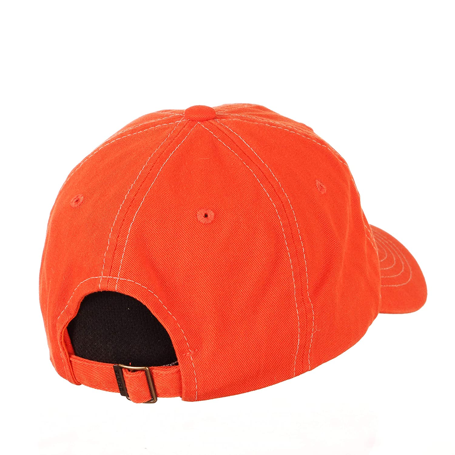 Adjustable Primary Team Color NCAA Zephyr Clemson Tigers Mens Solo Washed Cotton Relaxed Hat