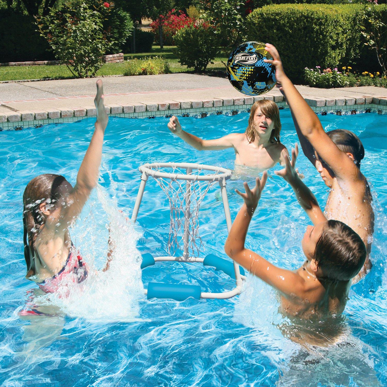 amazon com poolmaster 72714 classic pro water basketball game
