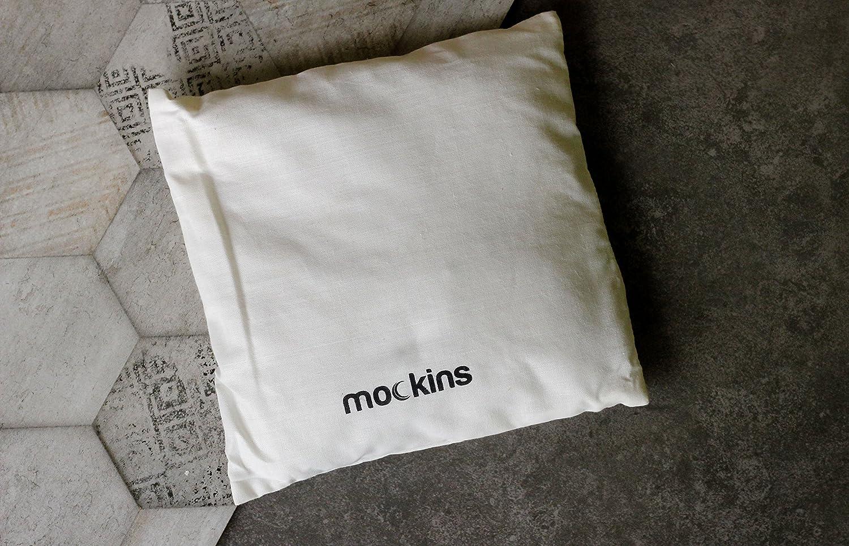 Mockins Himalayan Cotton Healing Pillow The Salt Filled Therapeutic Pillow is 8 x 8 with Natural Himalayan Crystal Salt