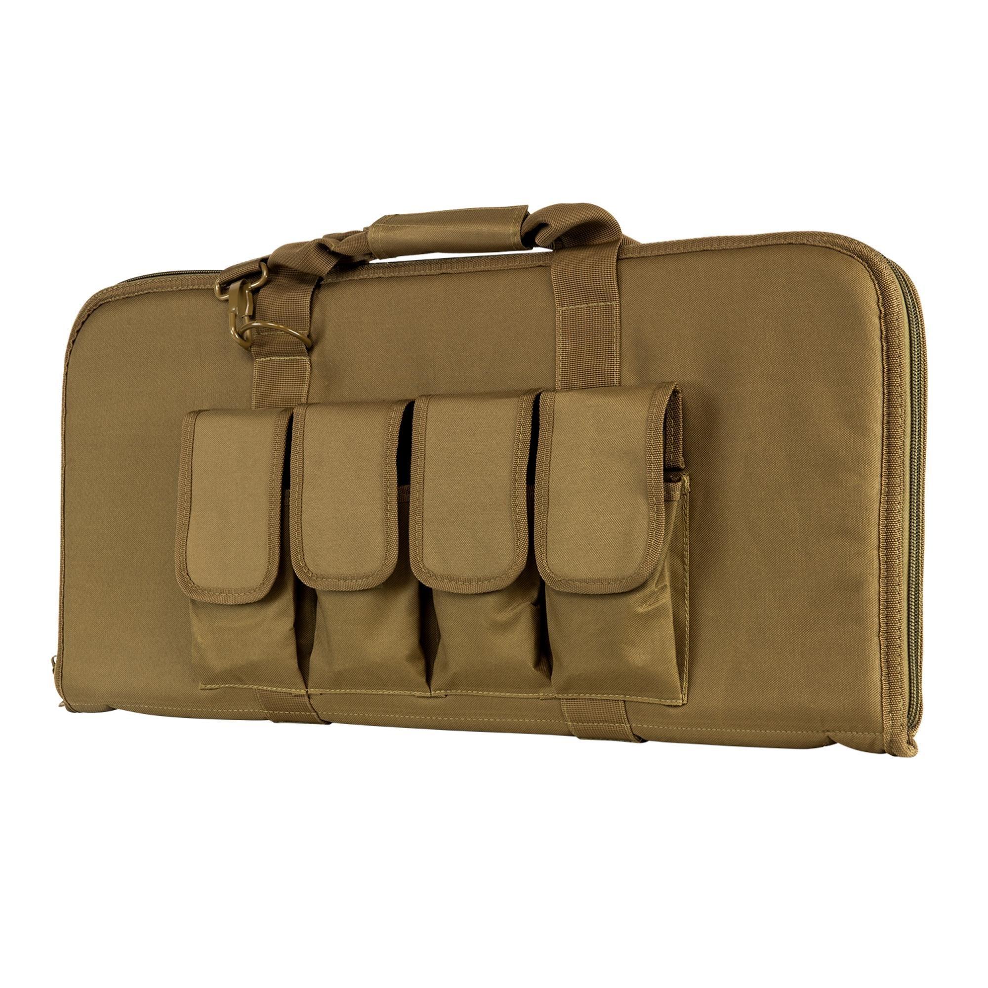 VISM by NcStar CVCP2960T-28 Pistol Subgun Gun Case, Tan, 28'' x 13''