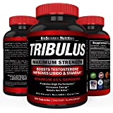 Tribulus Terrestris Extract Powder | Testosterone Booster with Estrogen Blocker | 45% Steroidal Saponins 1500mg | BioScience Nutrition USA