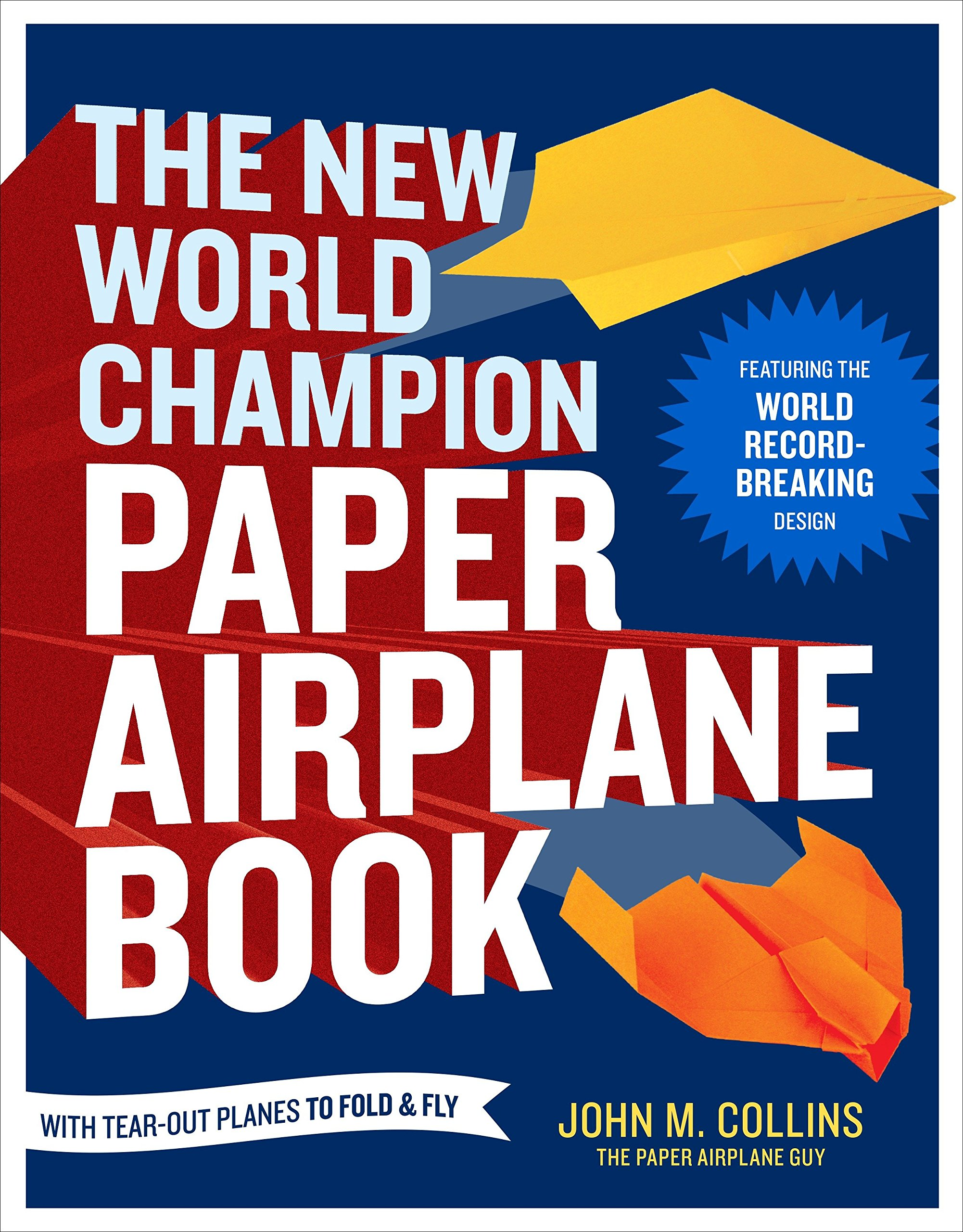the new world champion paper airplane book featuring the world