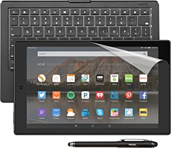 "Fire HD 10 Productivity Bundle including Fire HD 10 Tablet, 10.1"" HD Display, Wi-Fi, 16 GB - Includes Special Offers, Amazon Keyboard Case, Amazon Stylus and Screen Protector"