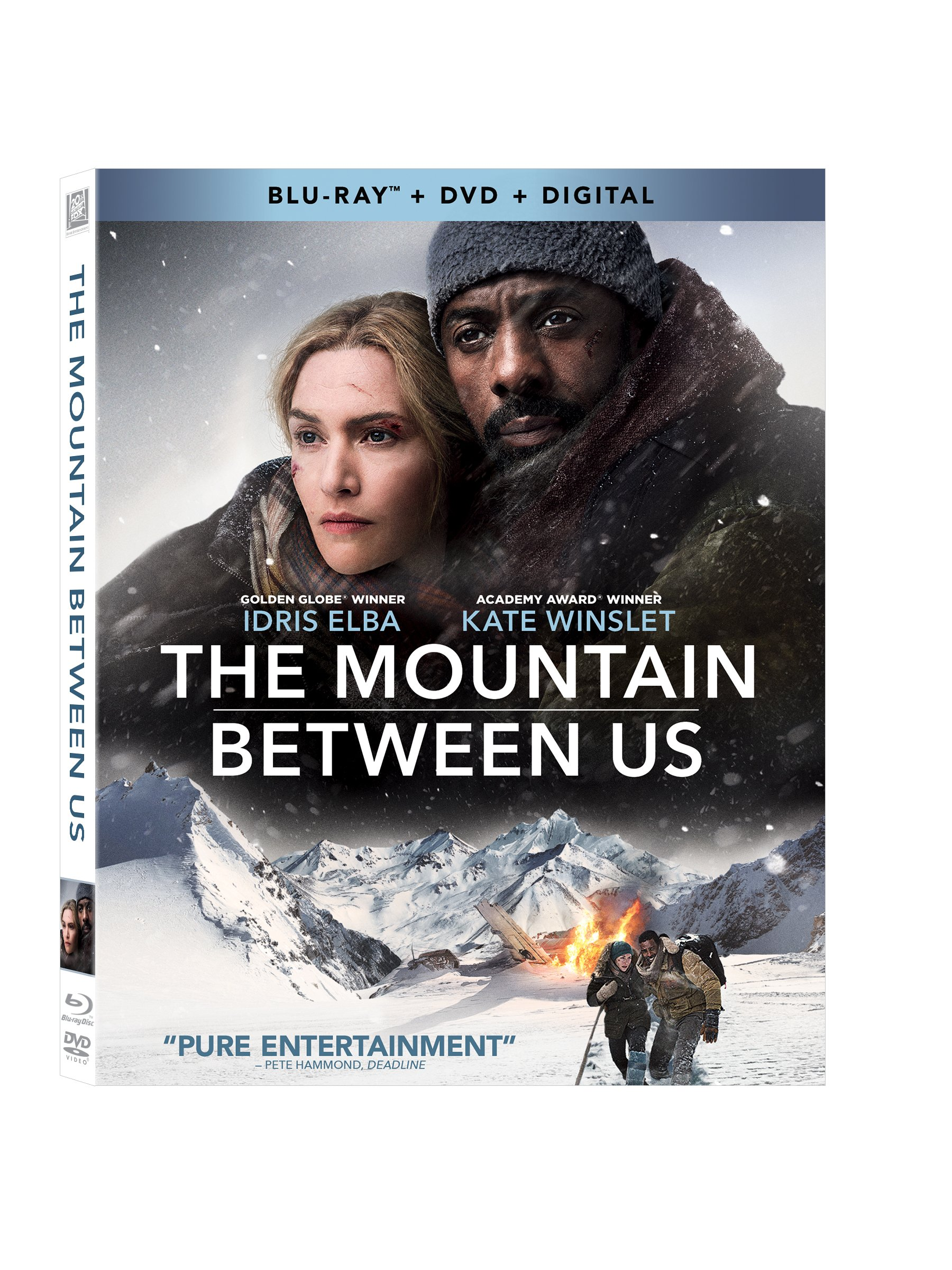 Blu-ray : The Mountain Between Us (With DVD, 2 Pack, Digitally Mastered in HD, 2 Disc)
