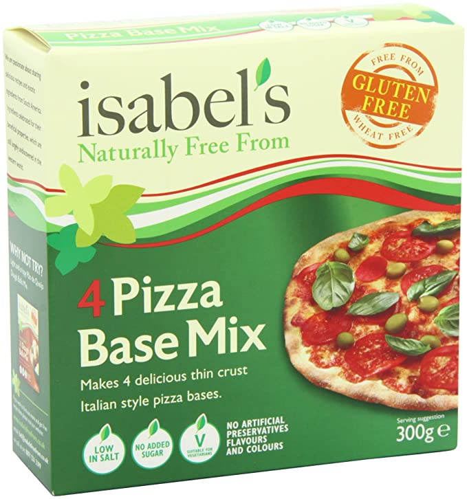Isabels Brazilian Flavours Gluten and Wheat Free Pizza Mix ...