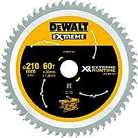 Dewalt DT99567-QZ DT99567-QZ-Hojas para Sierra Circular Estacionaria XR Extreme RUNTIME 210mm x 30mm 60D