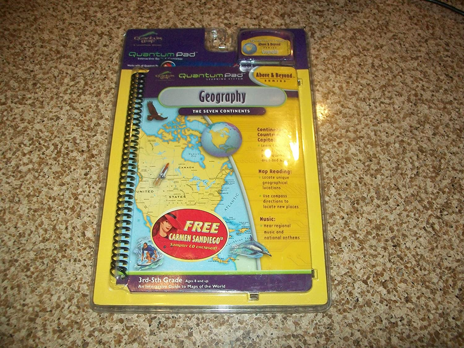 QUANTUM PAD LEARNING SYSTEM GEOGRAPHY THE SEVEN CONTINENTS