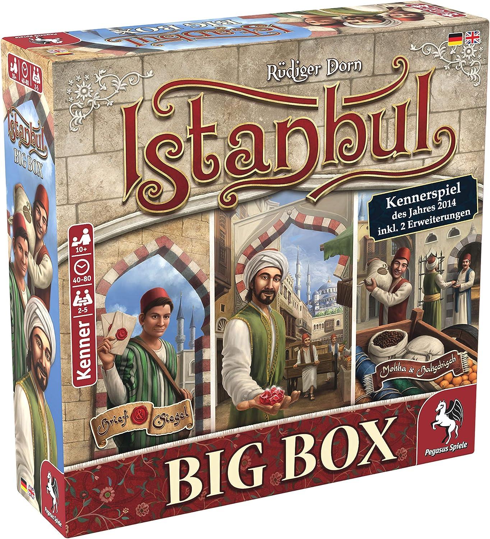 Pegasus Spiele- Nein Istanbul Big Box - Juego (55119G): Amazon.es ...