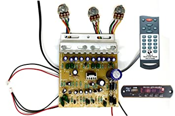 tech and trade 100w diy stereo audio amplifier circuit amazon in rh amazon in