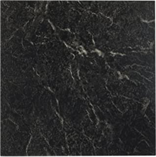 Achim Home Furnishings FTVMA40920 Nexus 12 Inch Vinyl Tile  Marble Black  with White Vein. Amazon com  Home Dynamix 1052 Dynamix Vinyl Tile  12 by 12 Inch