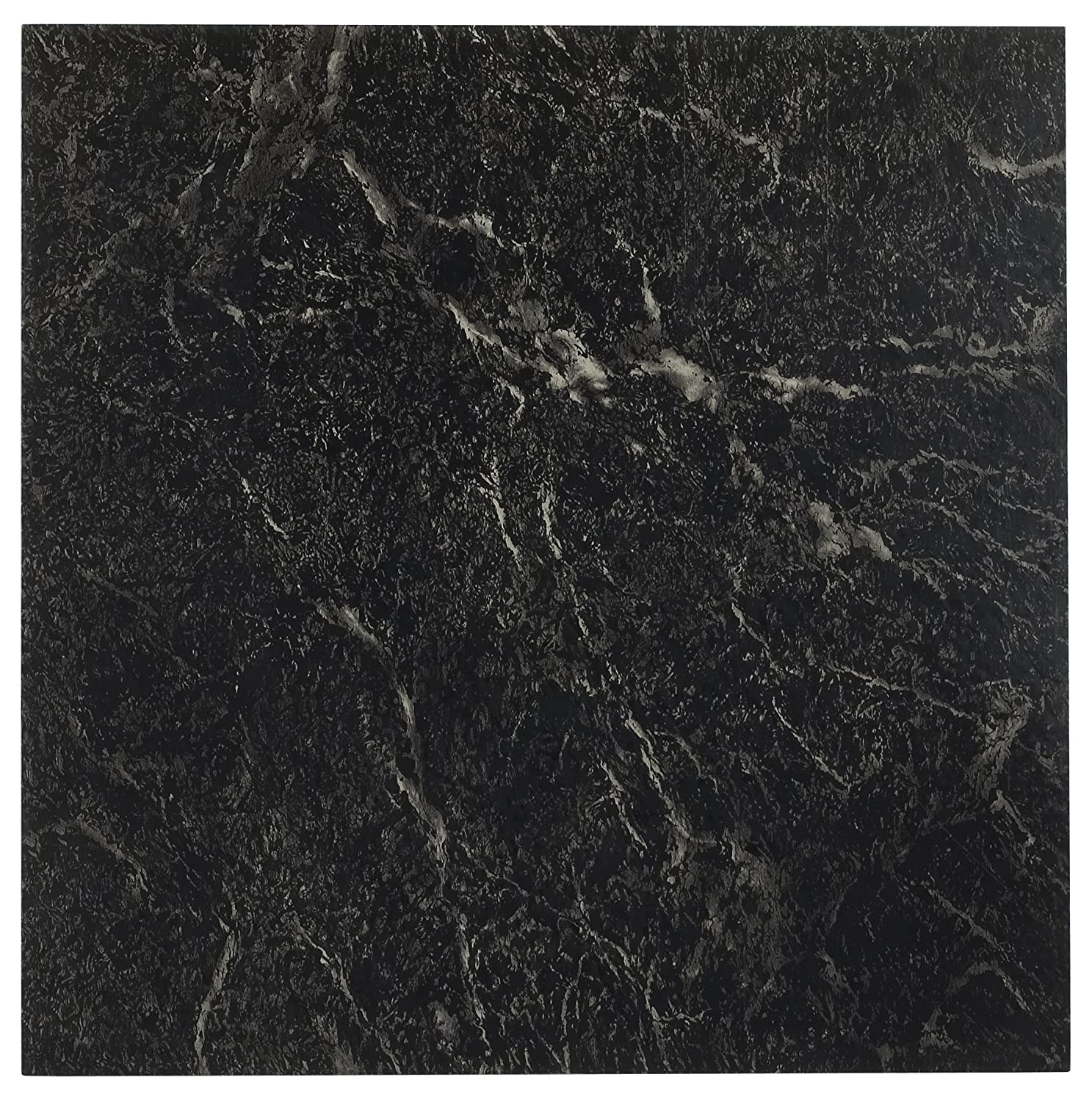 Achim home furnishings ftvma40920 nexus vinyl tile marble black achim home furnishings ftvma40920 nexus vinyl tile marble black with white vein 12 inch 20 pack vinyl flooring amazon canada doublecrazyfo Choice Image