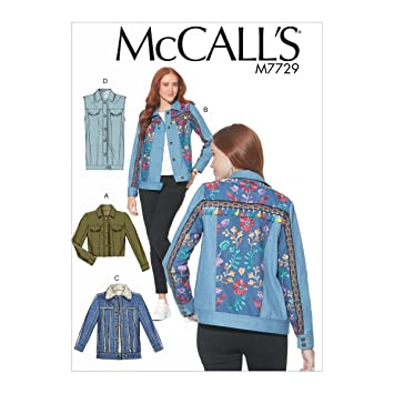 McCall \'s Patterns Schnittmuster Jacken und Weste Schnittmuster ...
