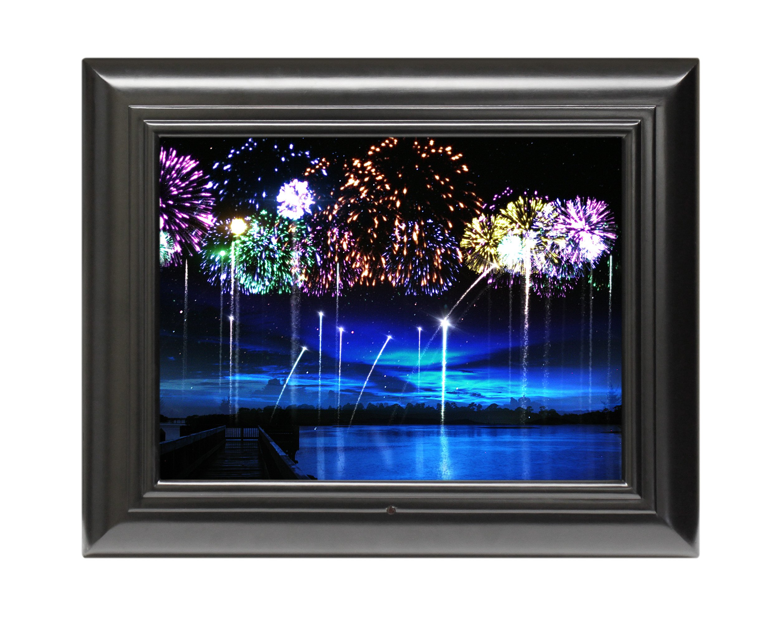 FrameWizard 15-Inch Digital Picture Frame Includes MatteMagic, ElementEffects, and MovingMemories (Black)