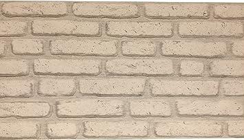 Wandverkleidung In Steinoptik Aus Styropor Fur Kuche Terrasse Schlafzimmer Wohnzimmer Wandpaneele Fur Mediterrane Wandgestaltung 120cm X 50cm X 2cm Weiss Amazon De Baumarkt