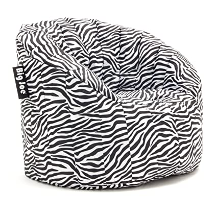 Incredible Big Joe Lumin Smartmax Fabric Chair Zebra Squirreltailoven Fun Painted Chair Ideas Images Squirreltailovenorg