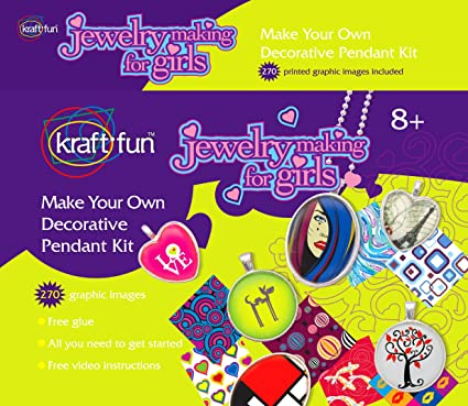 Amazon Com Make Your Own Arts And Craft Supplies Set Jewelry