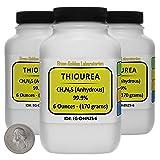 Thiourea [SC(NH2)2] 99.9% ACS Grade Crystals 1 Lb
