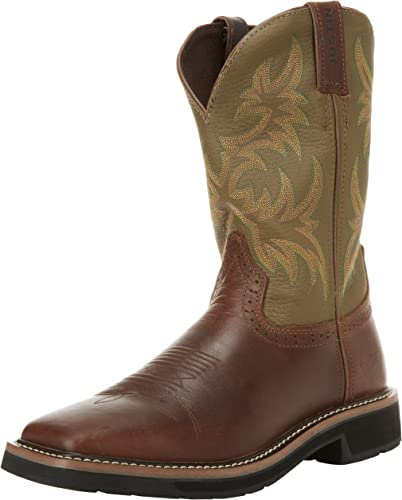 justin work boots on sale
