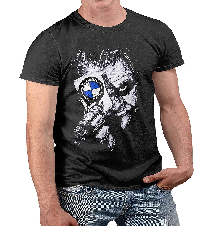 para Power M Tuning M3 M5 M6 X6 X5 M E30 E46 E90 F10 T Camiseta de Manga Corta para Hombre de Lulchev