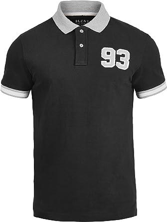 BLEND Gregor Camiseta Polo De Manga Corta para Hombre con Cuello ...
