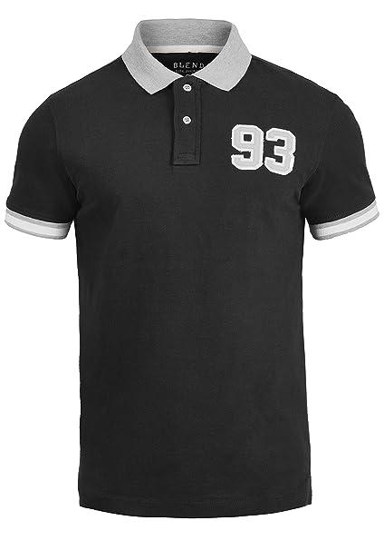 4fa5d7bc5d2 Blend Gregor Camiseta Polo De Manga Corta para Hombre con Cuello De Polo De  100% algodón: Amazon.es: Ropa y accesorios