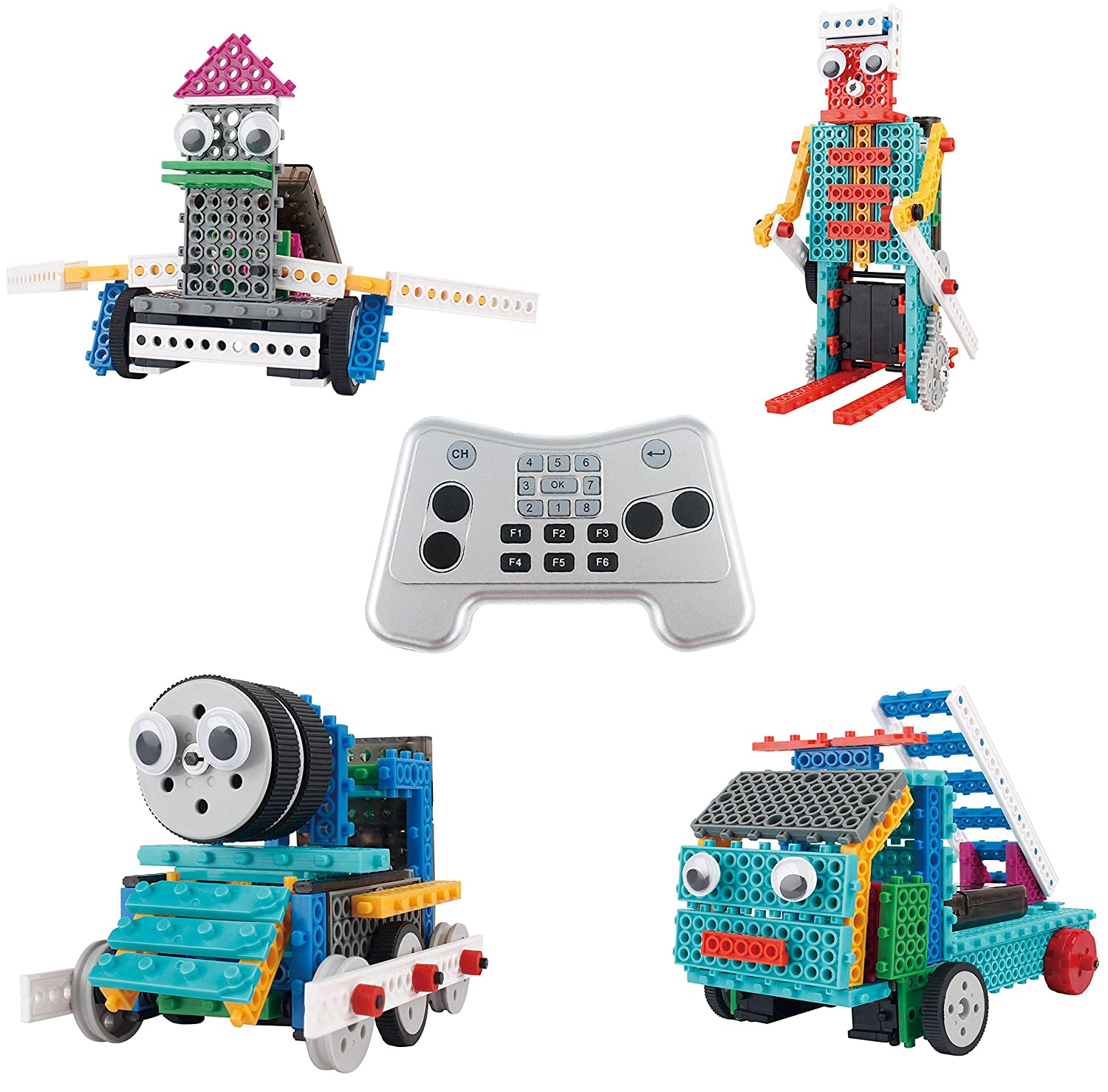 Build Your Own Robot Toys For Kids Ingenious Machines Remote