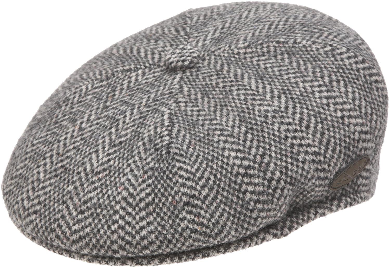 Kangol Men s Wool Herringbone 504 Cap at Amazon Men s Clothing store  f2ef6ef6ec7