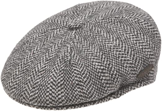 Kangol Men s Wool Herringbone 504 Cap at Amazon Men s Clothing store  a8c097e171cb