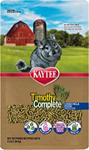 Kaytee Timothy Hay Complete Chinchilla Food