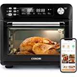 COSORI 12-in-1 Air Fryer Toaster Combo Mothers Day Gifts, Countertop Dehydrator for Chicken, Pizza and Cookies, Recipes & Acc