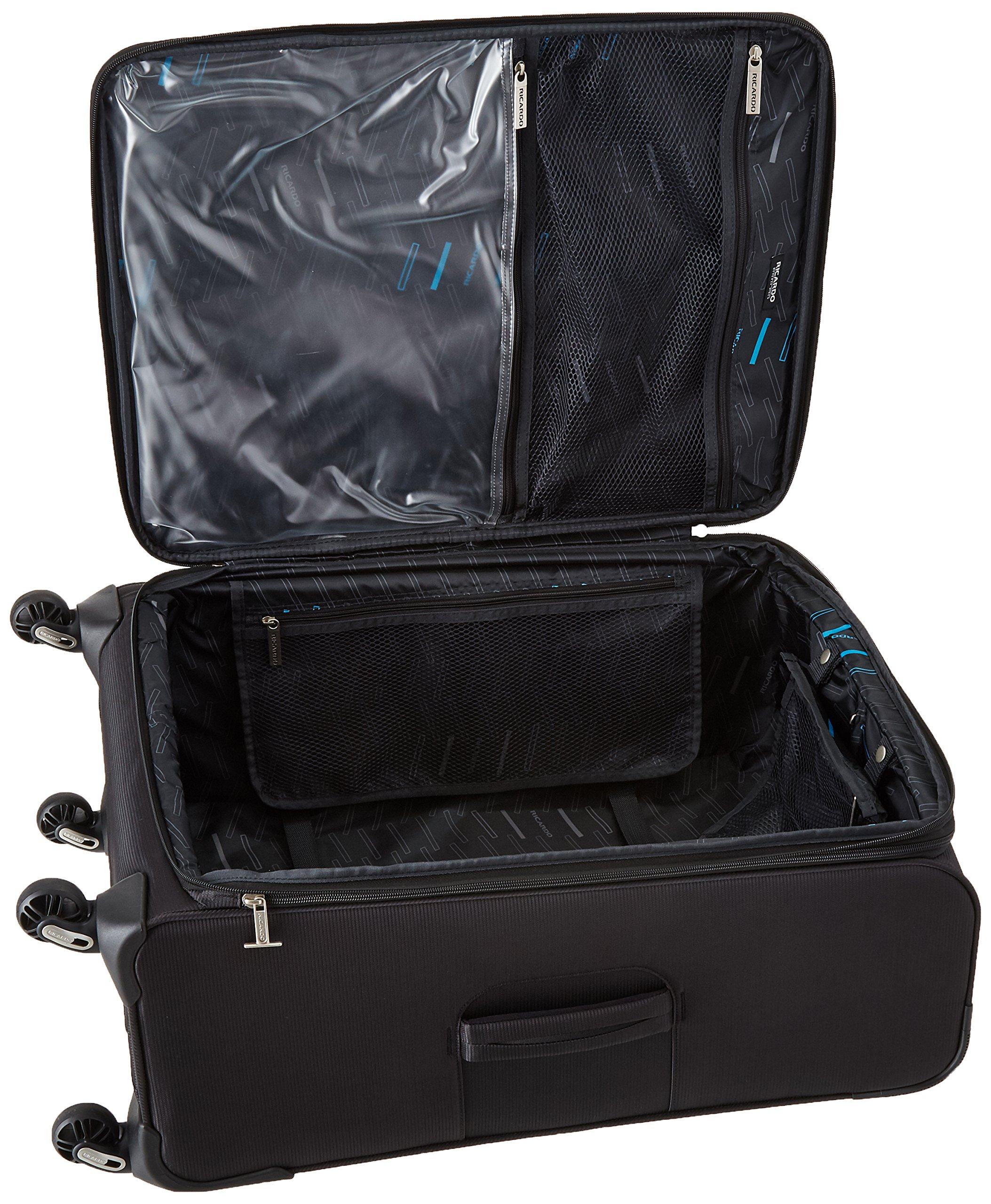 Ricardo Beverly Hills Del Mar 25-inch 4 Wheel Expandable Upright, Black, One Size by Ricardo Beverly Hills (Image #5)