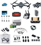 DJI Mavic PRO Portable Collapsible Mini Racing Drone with 32GB SD Card + Range Extender, Lens Hood, Card Reader, Landing Gear, Stick Protector, Prop Guards, Koozam Cleaning Cloth